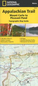 Appalachian Trail Map Guide: Mount Carlo to Pleasant Pond