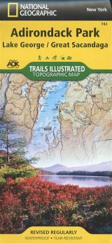 Adiroindack Park: Lake George/Great Sacandaga Topographic Map