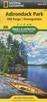 Adirondack Park: Old Forge/Oswegatchie Topographic Map