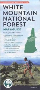 AMC White Mountain National Forest Map & Guide (3rd edition)