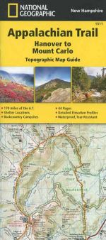 Appalachian Trail Map Guide: Hanover to Mount Carlo