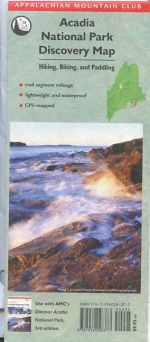 Acadia National Park Discovery Map