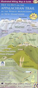 Hut to Hut on Appalachian Trail Map & Guide (6th edition)