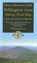 GMC Killington Area Hiking Trail Map