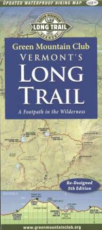 Vermont's Long Trail map (5th edition)