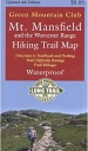 GMC Mount Mansfield and Worcester Range Hiking Trail Map (4th edition)