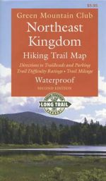 GMC Northeast Kingdom Hiking Trail Map (2nd edition)