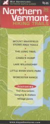 Northern Vermont Hiking Map