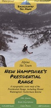 New Hampshire's Presidential Range Ski Map