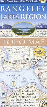 Rangeley Lakes Region Topo Map