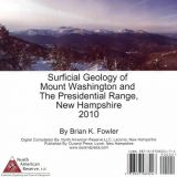Surficial Geology of Mount Washington and The Presidential Range, New Hampshire