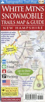 White Mountains Snowmobile Trails Map & Guide